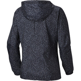 Columbia Flash Forward Printed Windbreaker Jacket Women black print